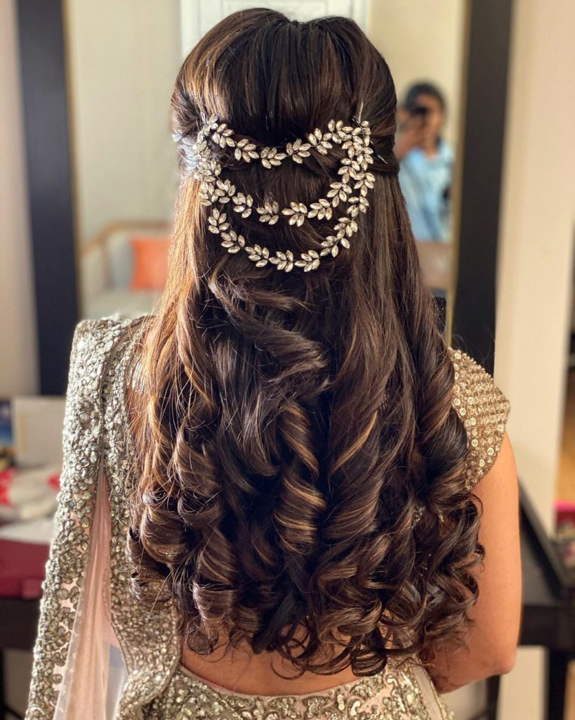 bridal hairstyle video