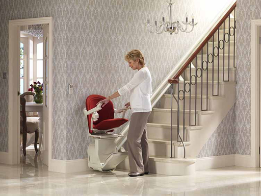 wheelchair step lift